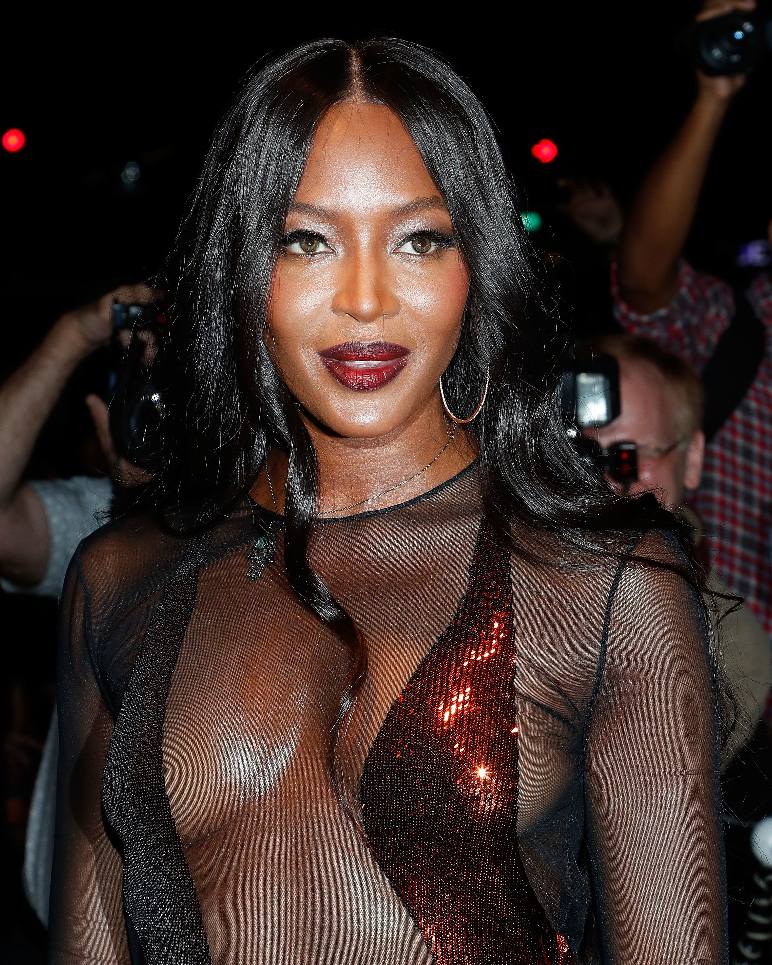 NEW YORK, NY - SEPTEMBER 07:  Model Naomi Campbell attends the Tom Ford Fall 2016 fashion show during New York Fashion Week September 2016 at The Four Seasons on September 7, 2016 in New York City.  (Photo by Taylor Hill/FilmMagic)