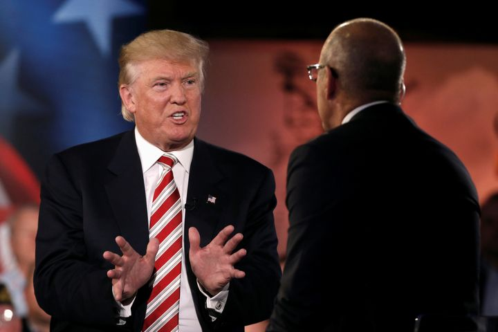 Matt Lauer came under fire Wednesday for not challenging Donald Trump's false claims on Libya and Iraq.