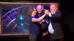 Vince Cable Gave Ed Balls A Dancing Lesson On Live BBC