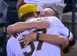 Proud Dad Totally Loses It After Son Wins His First MLB Game