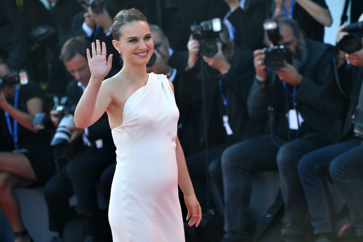 Natalie Portman walks the red carpet atthe 73rd Venice Film Festival.