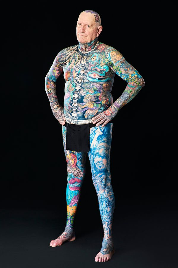 Senior Couple Breaks World Record For Most Tattoos On The ...