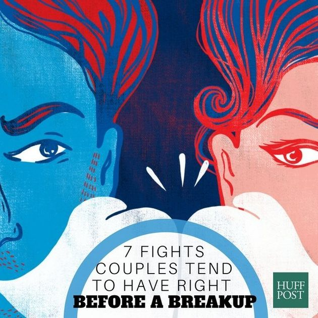 7 Fights Couples Tend To Have Right Before A