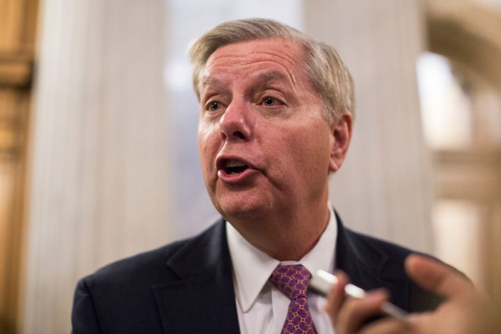 Lindsey Graham is ready to pack his bags.