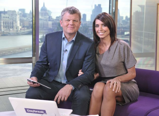 Adrian Chiles and Christine Bleakley fronted 'Daybreak'