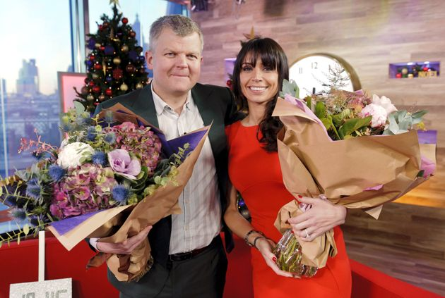The pair hosted the last show together in December