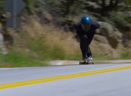 WATCH: Some Guy Went Almost 90 MPH... On A Skateboard!