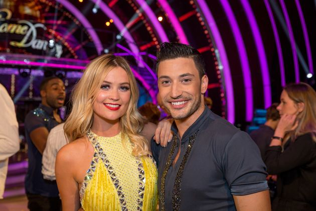 Laura Whitmore and Giovanni