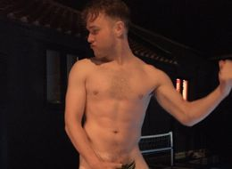 Olly Murs Poses Naked With A Pineapple (No, We're Not Sure Why Either)