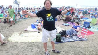 NEWPORT, RI - JULY 24:  Promoter Peter Shapiro attends the 2015 Newport Folk Festival at Fort Adams State Park on July 24, 2015 in Newport, Rhode Island.  (Photo by Taylor Hill/WireImage)