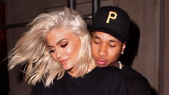 NEW YORK, NY - SEPTEMBER 06:  Kylie Jenner and Tyga seen on the streets of Manhattan on September 6, 2016 in New York City.  (Photo by James Devaney/GC Images)
