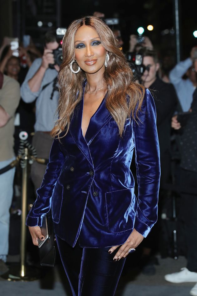 Iman Pays Tribute To David Bowie With Her