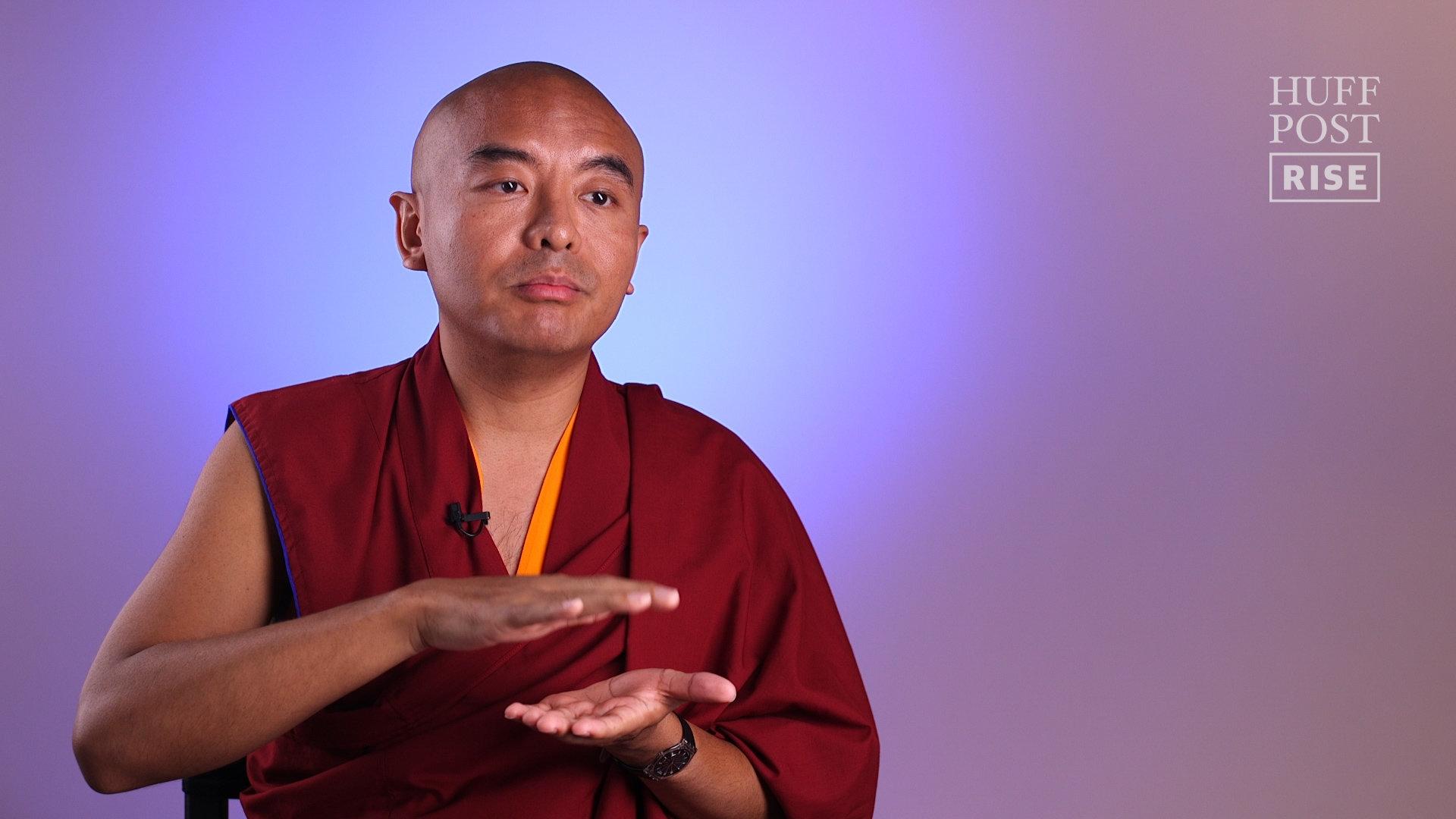 How A Tibetan Buddhist Master Dealt With His Panic