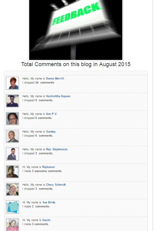Power Of Blog Comments
