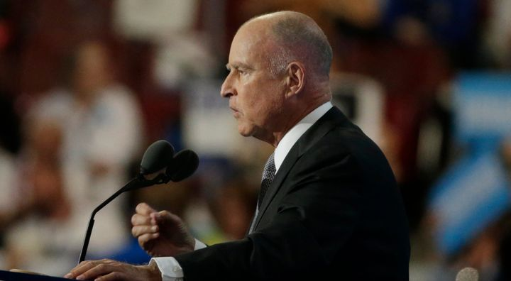 California Gov. Jerry Brown (D) is one of the nation's leading climate change activists.