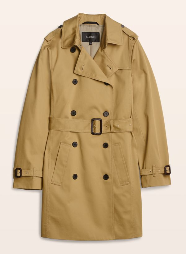 """<a href=""""http://us.aritzia.com/product/oliver-trench-coat/47000.html"""" target=""""_blank"""">Aritizia</a> Babaton Oliver Trench, now"""