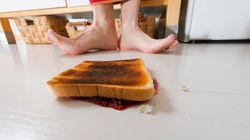 Why The Five-Second Rule Is 'Sort Of'