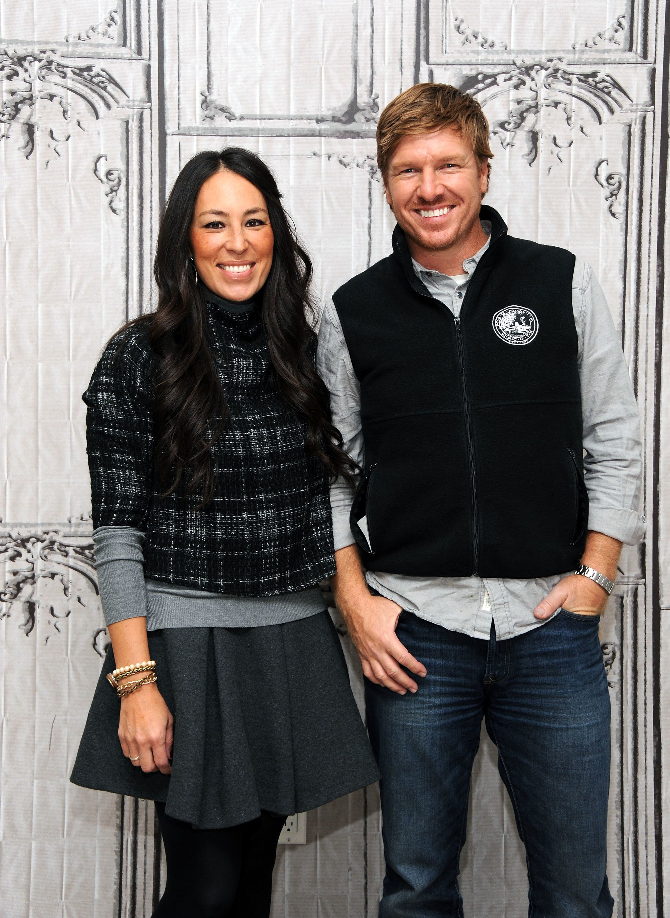 NEW YORK, NY - DECEMBER 08:  Designers Joanna Gaines and Chip Gaines attend AOL Build Presents: 'Fixer Upper' at AOL Studios In New York on December 8, 2015 in New York City.  (Photo by Desiree Navarro/WireImage)