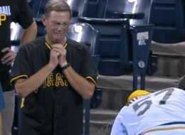 The Moment This Dad Broke Down At His Son's MLB Debut Is Tear-Inducing