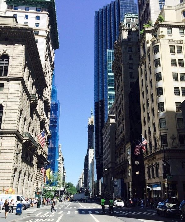 A Fifth Avenue perspective from former 'Gucci City' crossroad