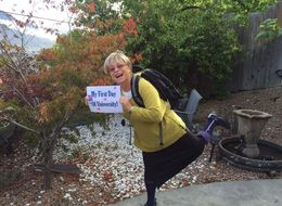 Grandma Celebrates First Day Of College With The Most Charming Photo