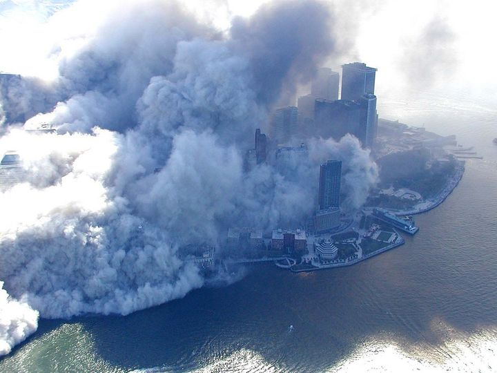 When the Twin Towers collapsed, Manhattan was carpeted with toxic dust.