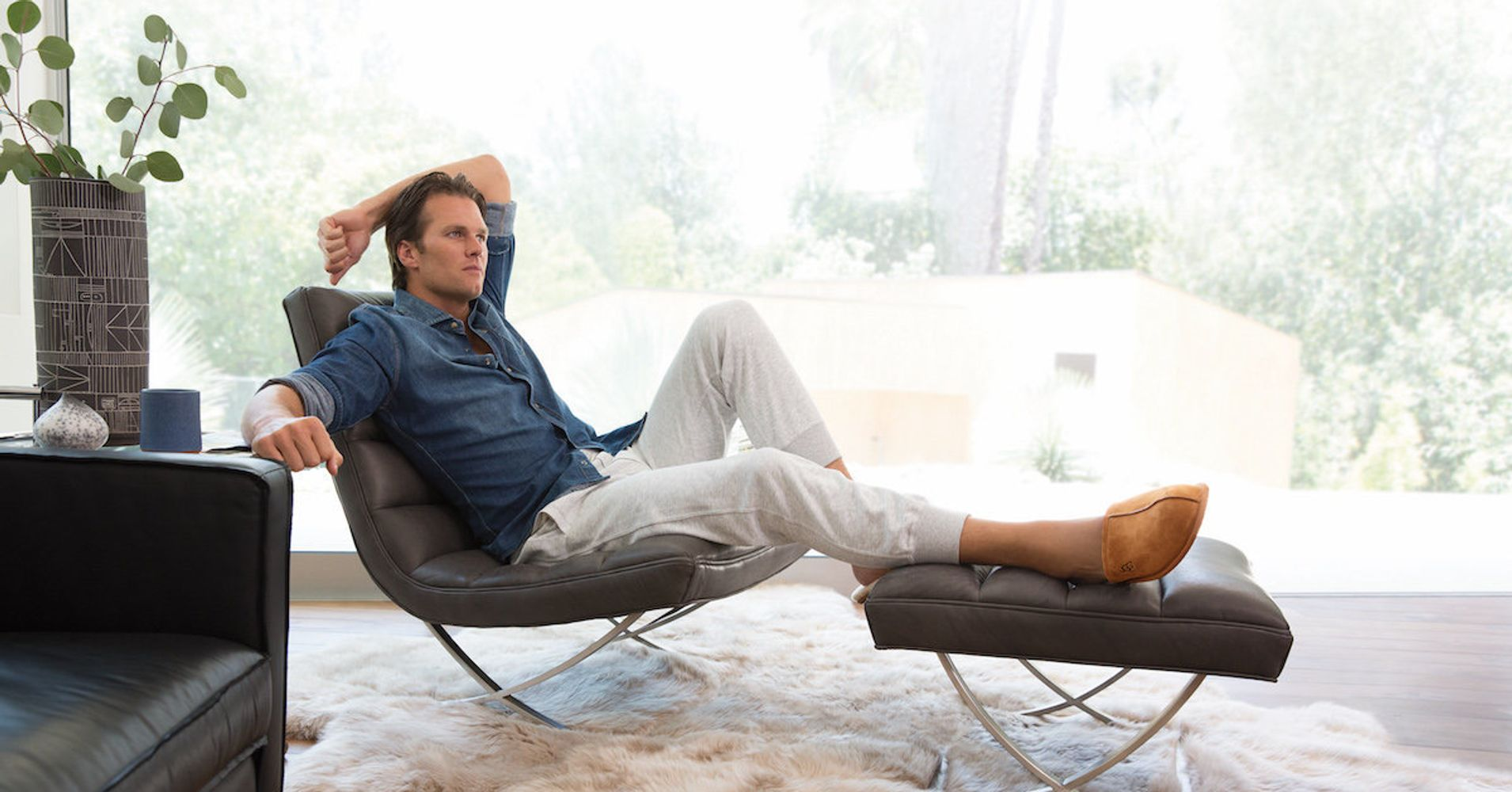 Suspended Tom Brady Promotes The Do Nothing Life Wearing