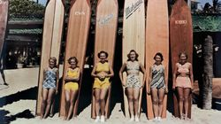 See How Swimsuits Evolved From Wool Dresses To