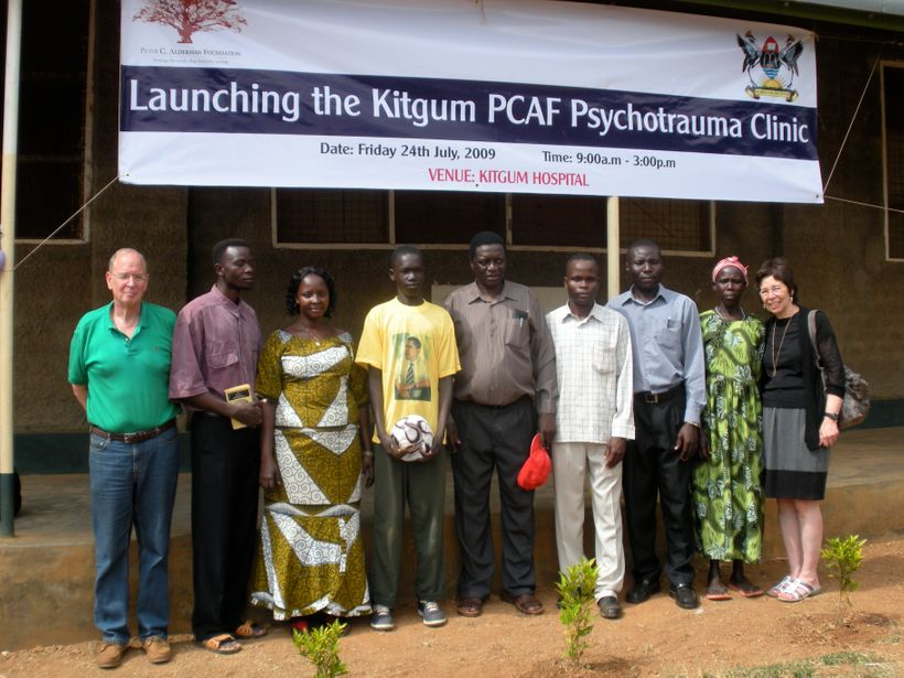 The Aldermans at launching of PCAF Clinic