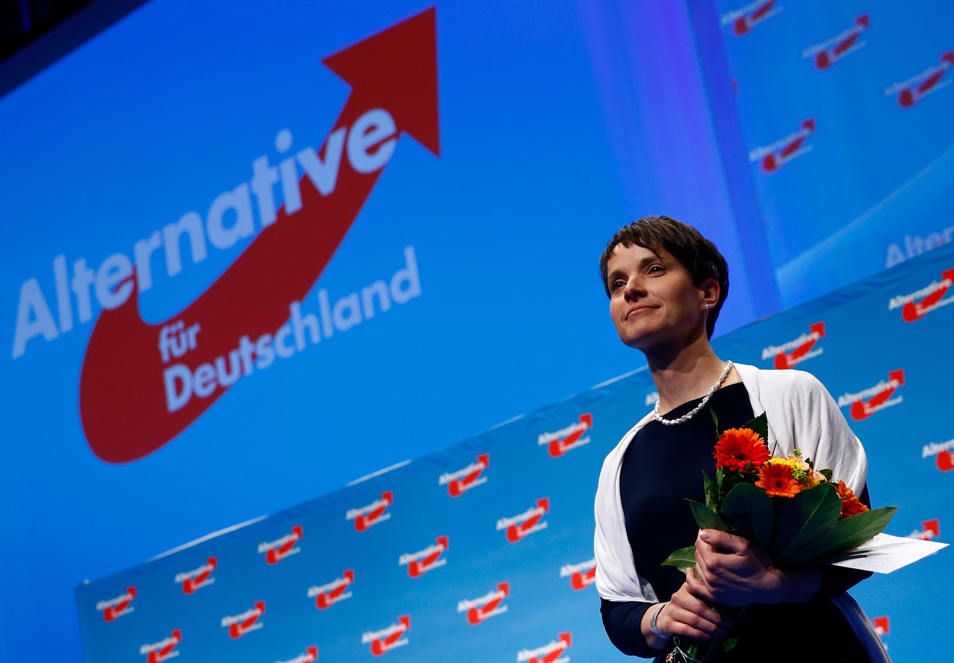 Frauke Petry, chairwoman of the anti-immigration party Alternative for Germany, has steered the once-eurosceptic party toward
