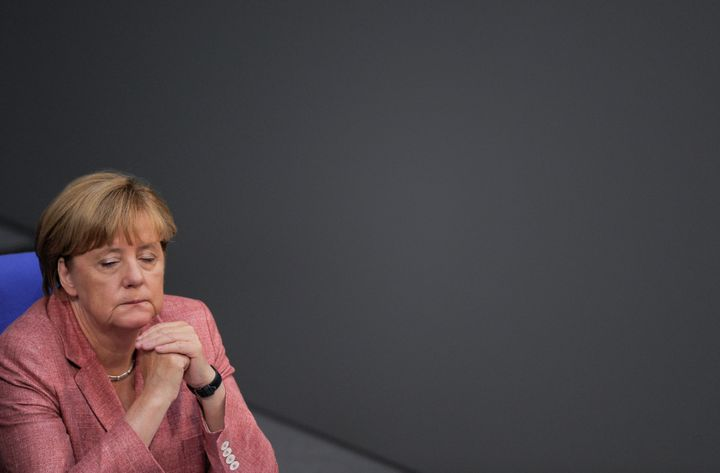 On Tuesday, German Chancellor Angela Merkel spoke sharply of the AfD's rise in Germany.