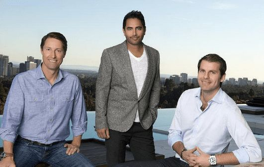 CAVU Partners: Clayton (left), Rohan (center) and Brett (right)
