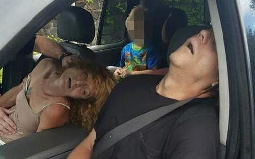 Parent's Heroin Overdose Pictures With Child In Car Released By Ohio
