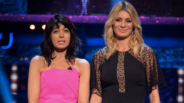 Claudia is quick to defend co-host Tess Daly from