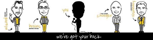 Infopreneur Agency, We've got your back.