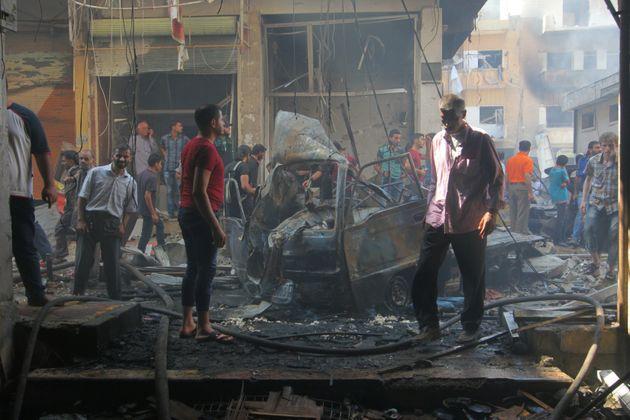Airstrikes in Aleppo kill at least 45