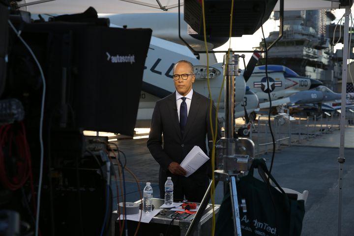 Presidential debate moderators, like NBC's Lester Holt, are under scrutiny like never before.