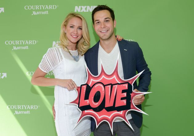 Anna Camp, Skylar Astin Probably Had a Pitch Perfect Wedding