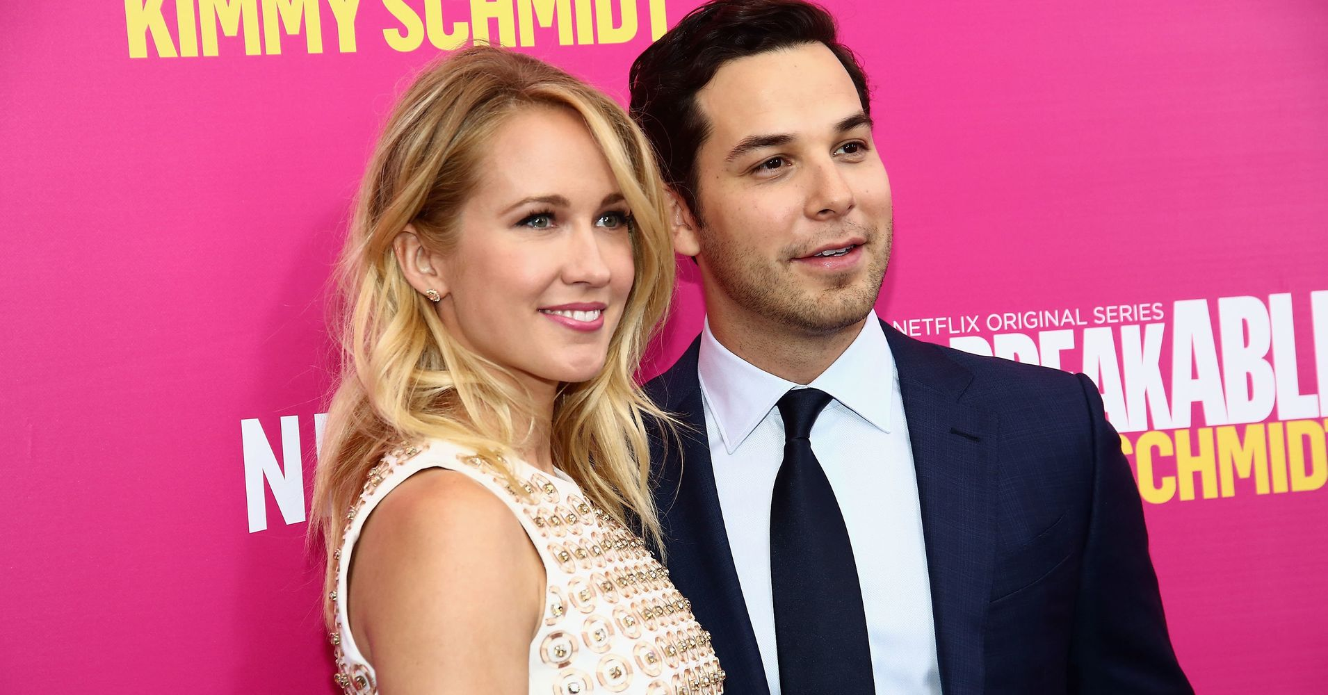 'Pitch Perfect' Co-Stars Anna Camp And Skylar Astin Tie