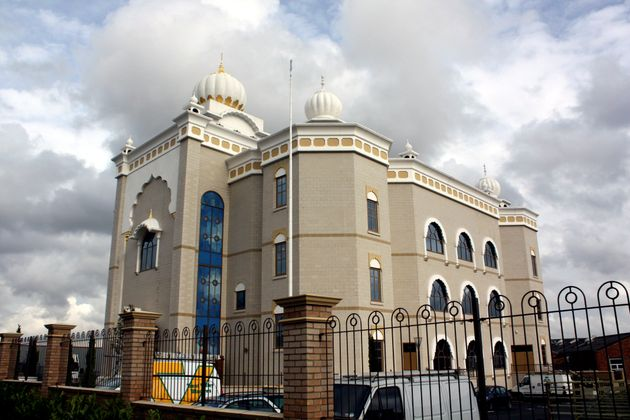 The Gurdwara Temple on Tachbrook Drive, Leamington