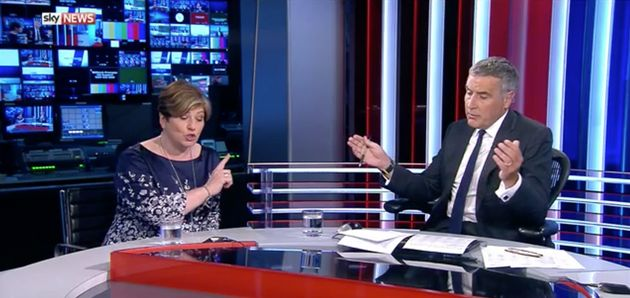 Emily Thornberry and Dermot Murnaghan clash on Sunday