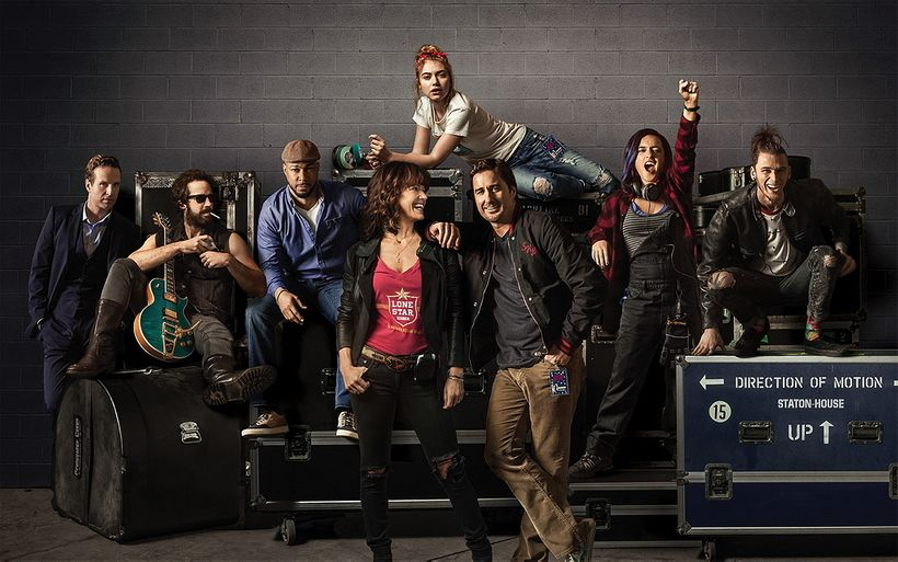 Motley crew: Some of the characters of <i>Roadies</i>