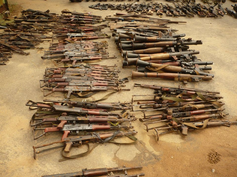 Guns that Conflict Armament Research identified in the Democratic Republic of