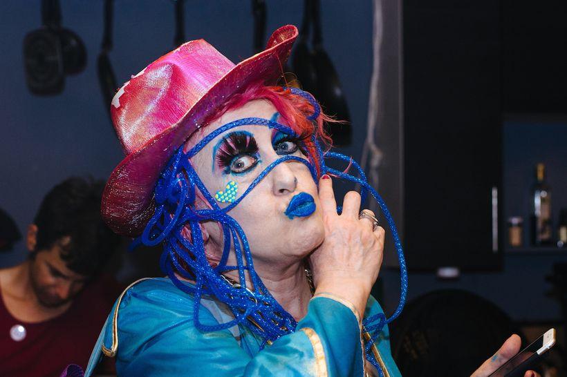 "Geraldine Visco, host of ""Visco Disco: The Stupid Show"""