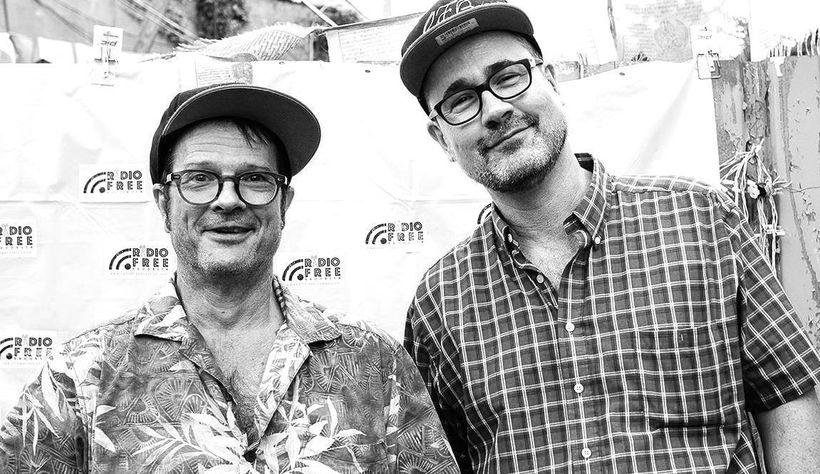 Robert Prichard and Tom Tenney, founders of Radio Free Brooklyn