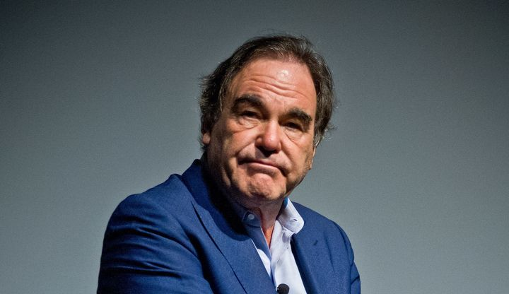 """Snowden"" director and Oscar winner Oliver Stone."