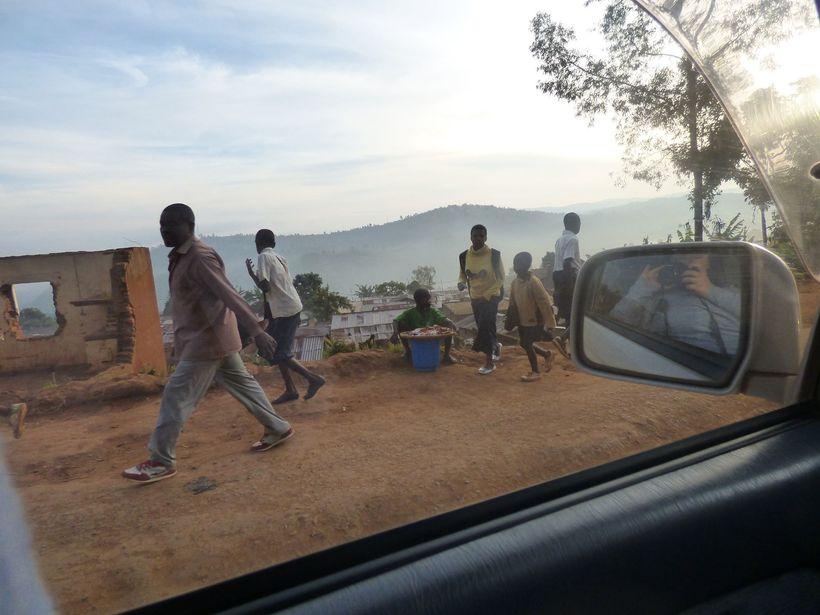 The Road to Panzi Hospital, Bukavu, DRC