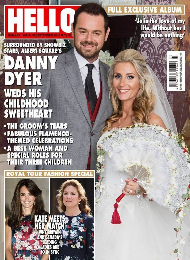 Danny Dyer Wedding: First Photo Of Joanne Mas And 'EastEnders' Actor's Big Day