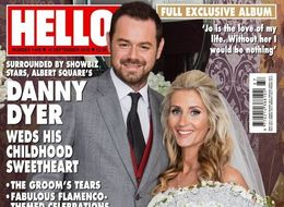 First Photo Of Danny Dyer And Joanne Mas's Wedding Revealed