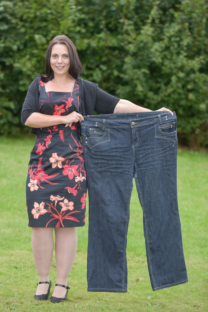 Jodie Hill after losing weight